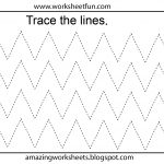 Free Printable Tracing Worksheets Preschool | Preschool Worksheets   Free Printable Preschool Worksheets Tracing Lines