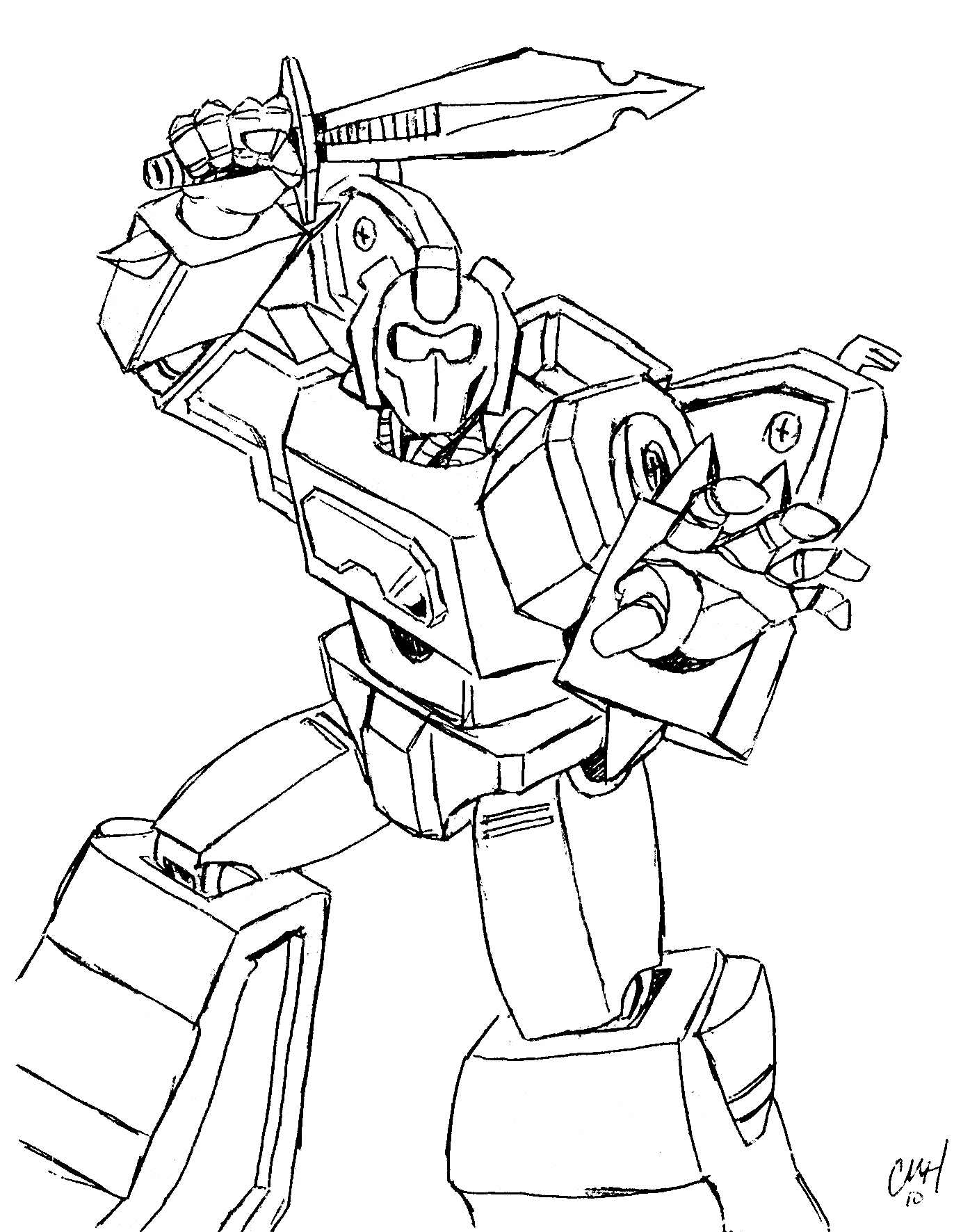 Free Printable Transformers Coloring Pages For Kids - Transformers 4 Coloring Pages Free Printable