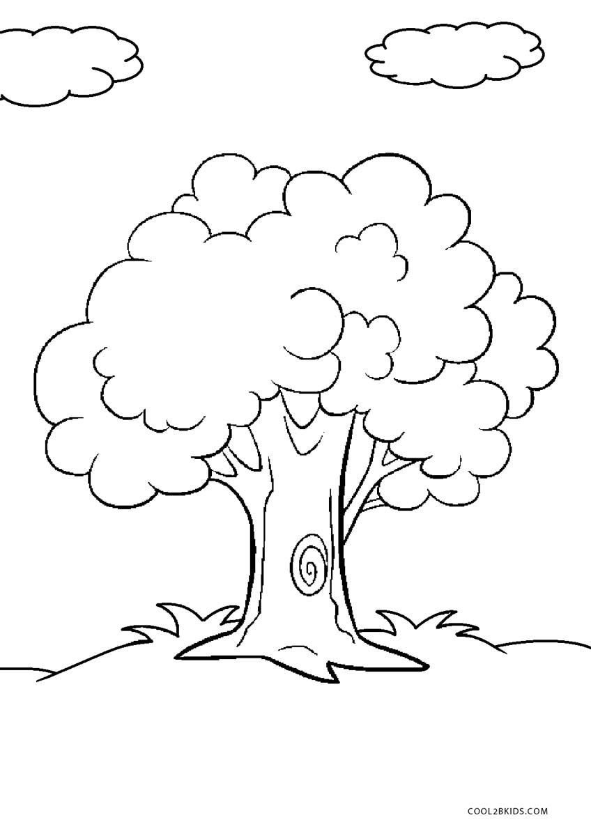 Free Printable Tree Coloring Pages For Kids   Cool2Bkids - Tree Coloring Pages Free Printable