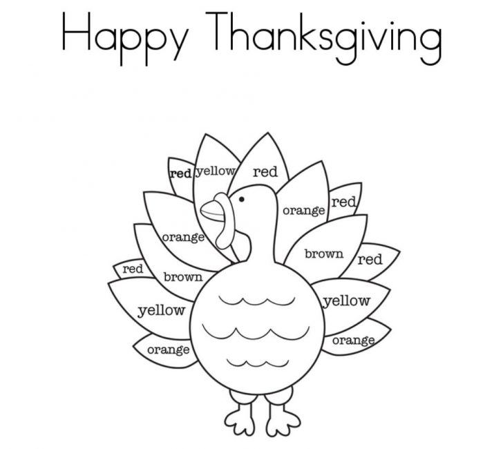 Free Printable Turkey Template