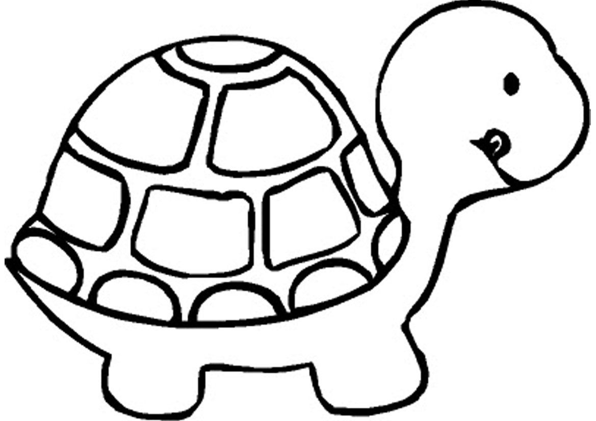 Free Printable Turtle Coloring Pages For Kids | Drawing | Turtle - Free Printable Coloring Pages For Preschoolers
