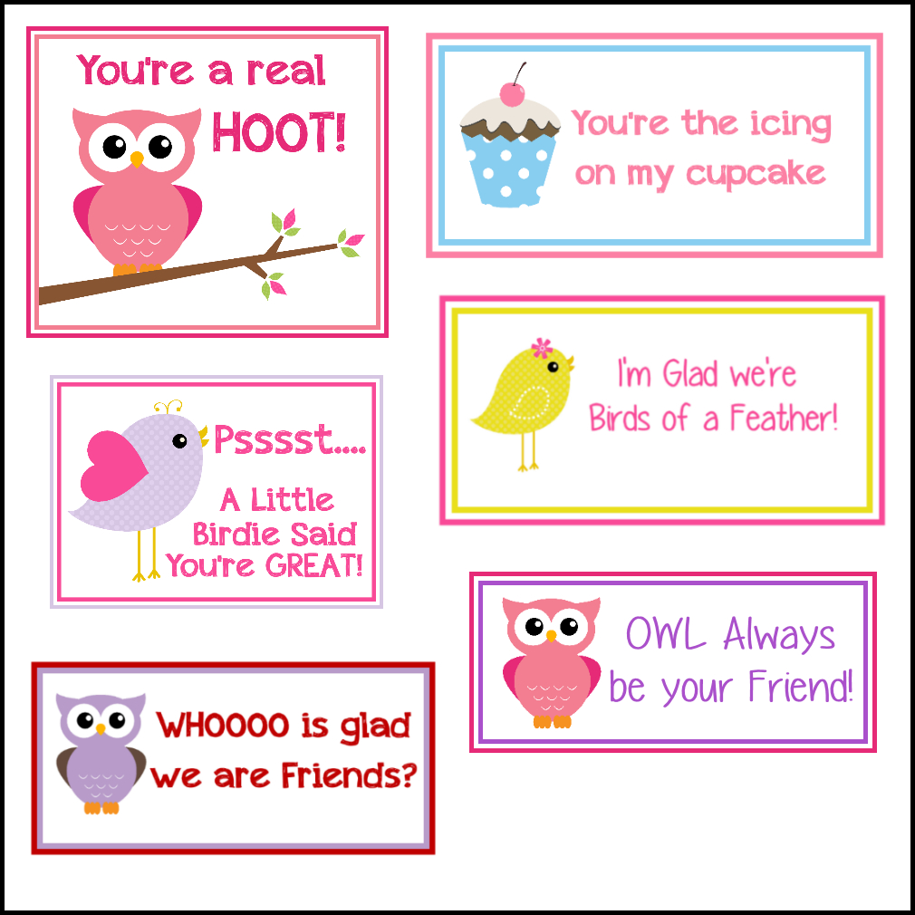 Free Printable Valentine's Cards (A Lot Of Them | Diy-Owl Printabes - Valentine Free Printable Cards