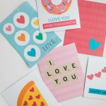 Free Printable Valentine's Day Cards   I Heart Naptime   Free Printable Personal Cards