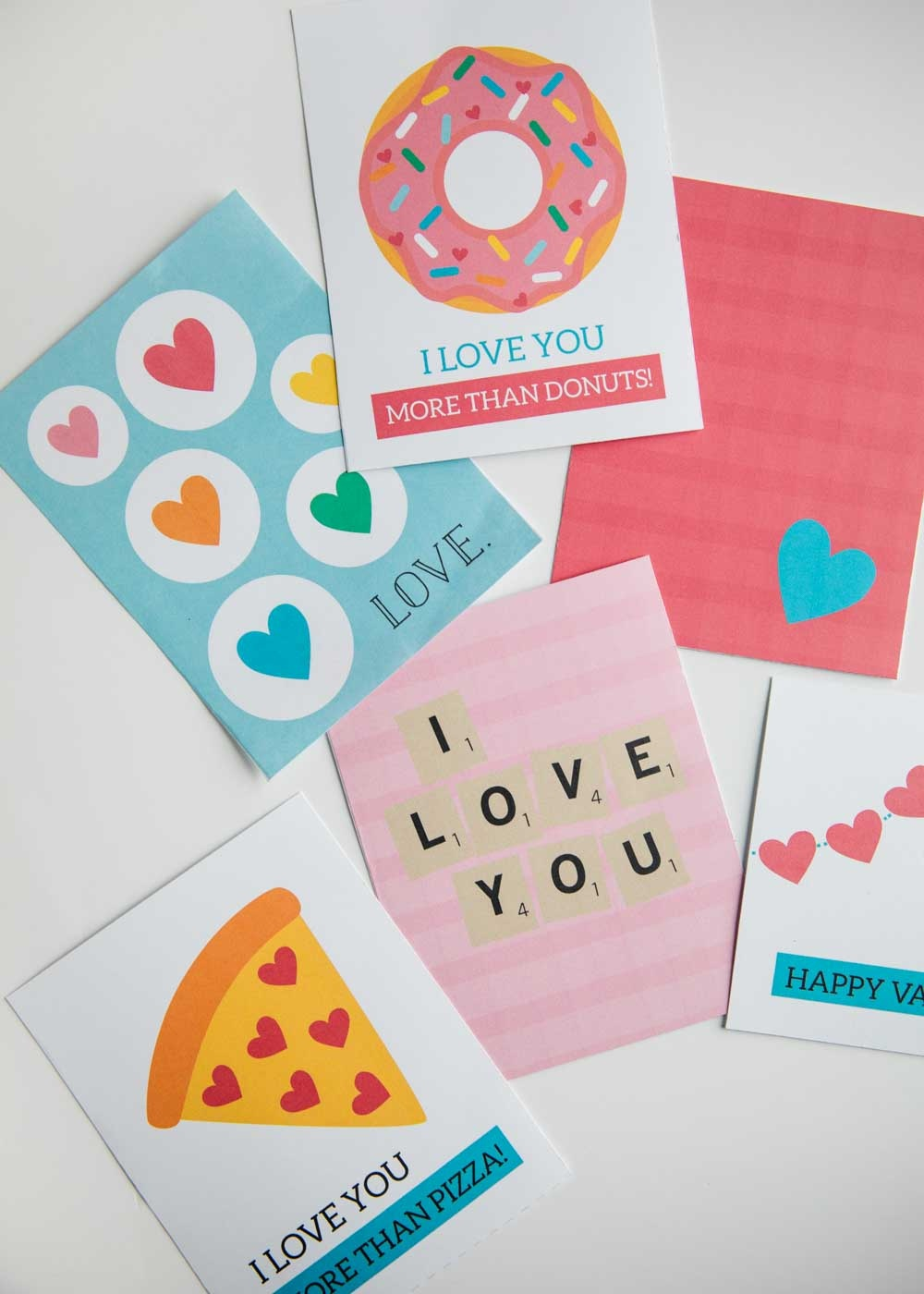 Free Printable Valentine's Day Cards - I Heart Naptime - Free Printable Personal Cards