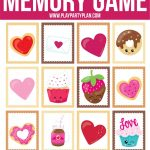 Free Printable Valentine's Day Memory Games For Kids   Play Party Plan   Free Printable Valentine Games For Adults
