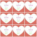 Free Printable Valentine's Day Tags   Free Printable Valentine Tags