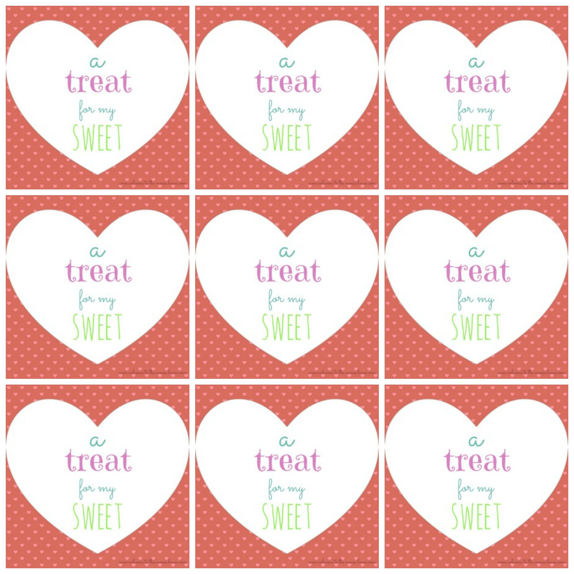 Free Printable Valentine's Day Tags - Free Printable Valentines Day Tags