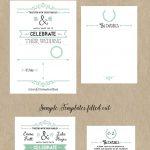 Free Printable Wedding Invitation Template | Wedding | Free Wedding   Free Printable Wedding Invitation Templates