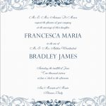 Free Printable Wedding Invitation Templates For Microsoft Word   Free Printable Wedding Invitation Templates For Microsoft Word