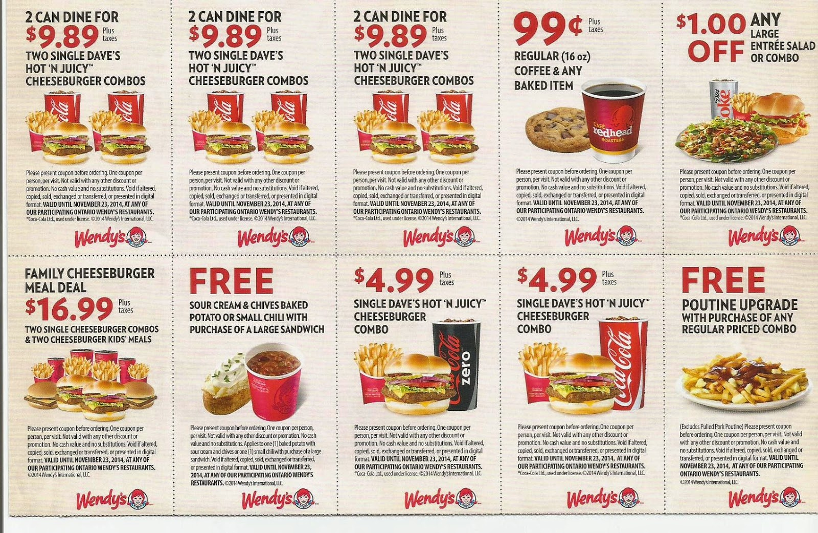 Free Printable Wendys Coupons For 2016 (28) - Free Printable Coupons For Food