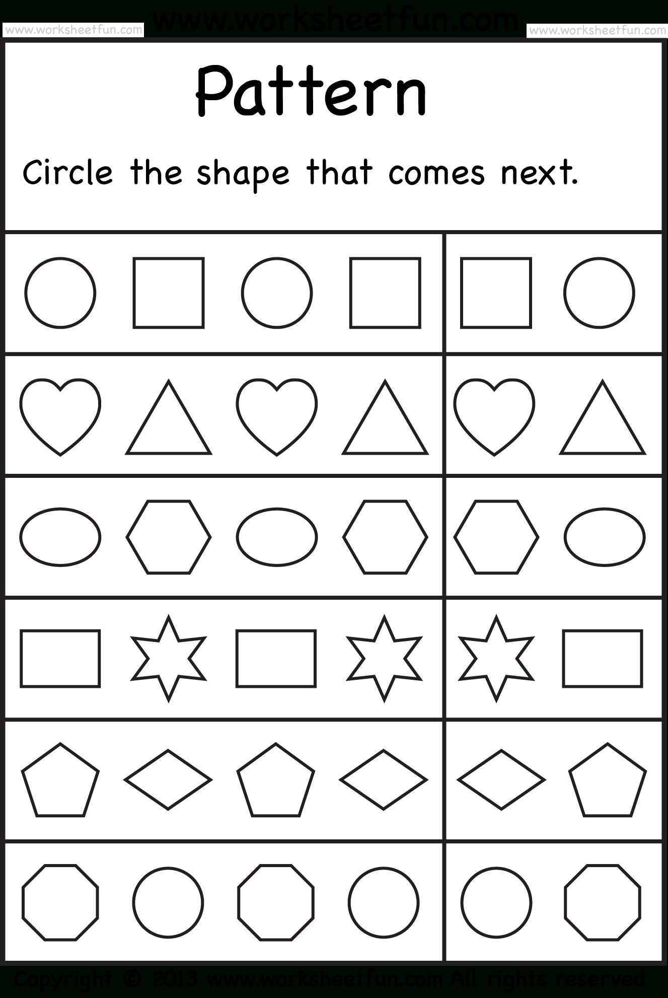 Free Printable Worksheets – Worksheetfun / Free Printable - Free Printable Preschool Worksheets