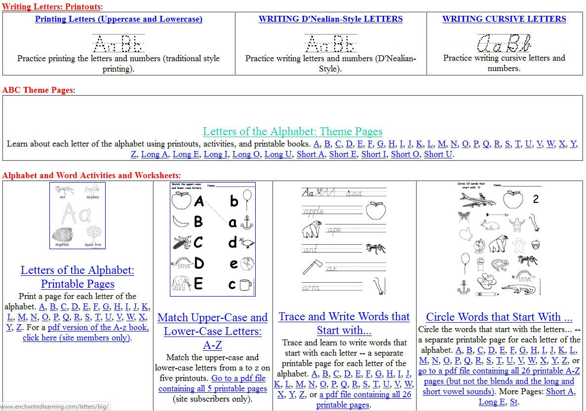 Free Printing And Cursive Handwriting Worksheets - Free Printable Handwriting Worksheets
