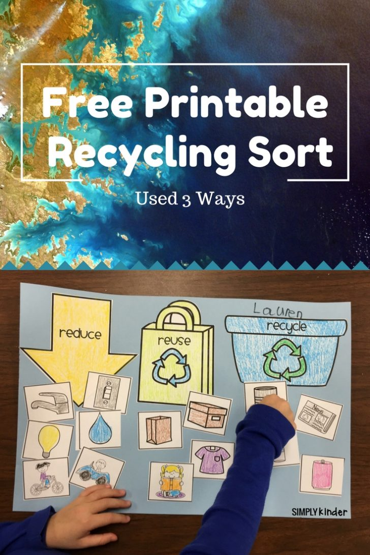 Free Printable Recycling Worksheets