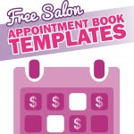 Free Salon Appointment Book Template   Worldwide Salon Marketing   Free Printable Salon Sign In Sheets
