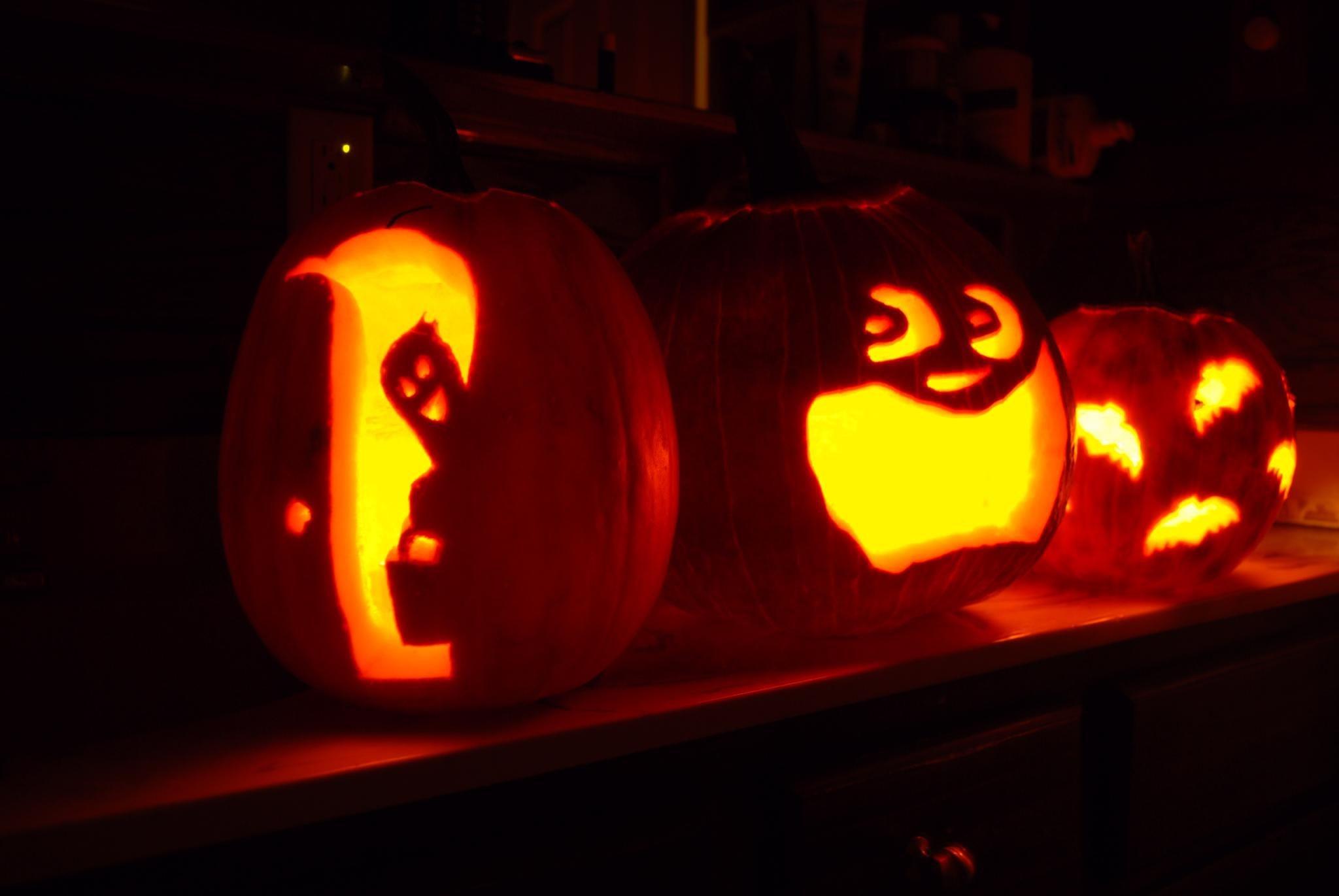Free Scary Pumpkin Stencils - Scary Pumpkin Stencils Free Printable