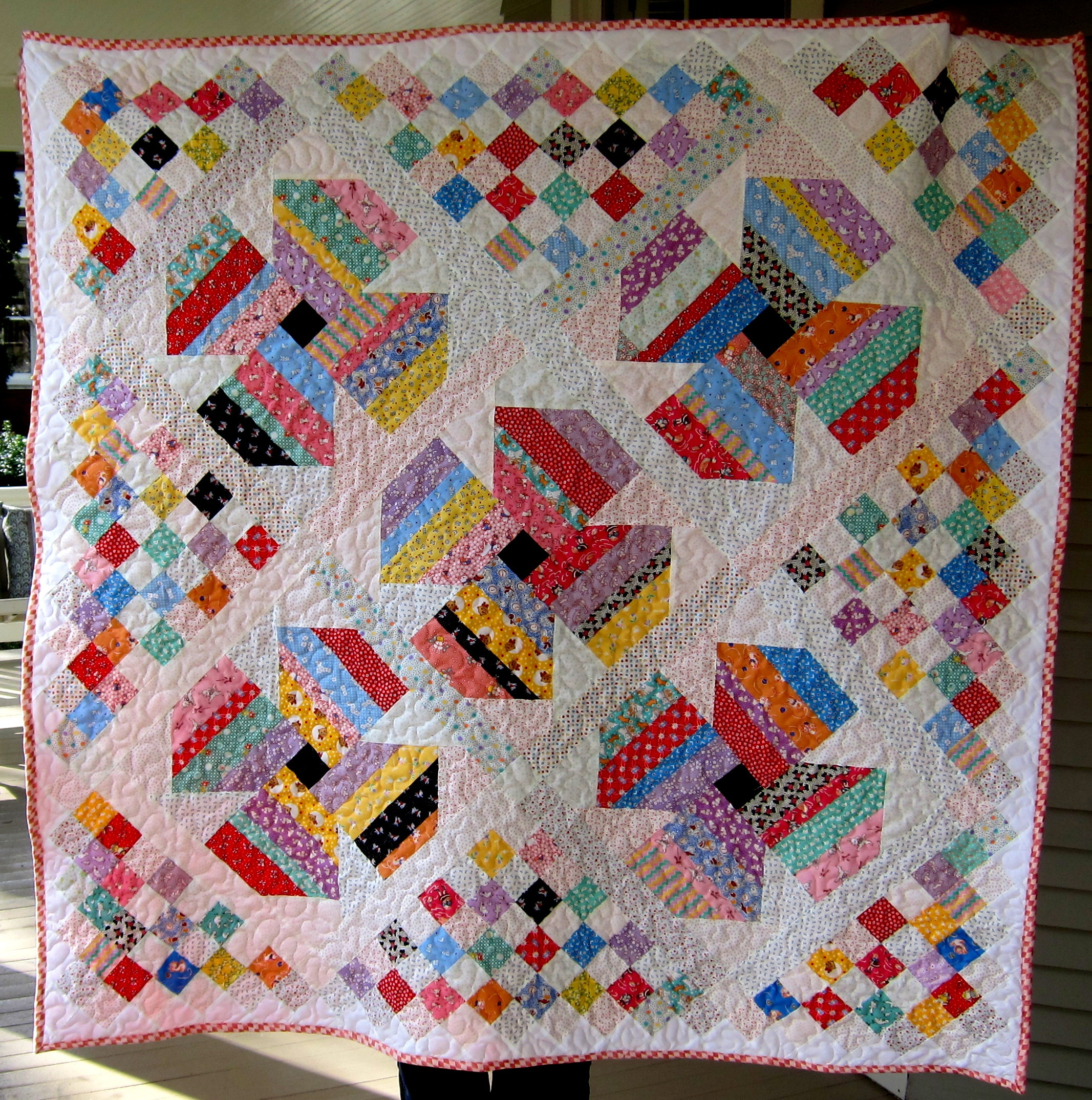 Free Scrap Quilt Pattern | - Free Printable Dutch Girl Quilt Pattern