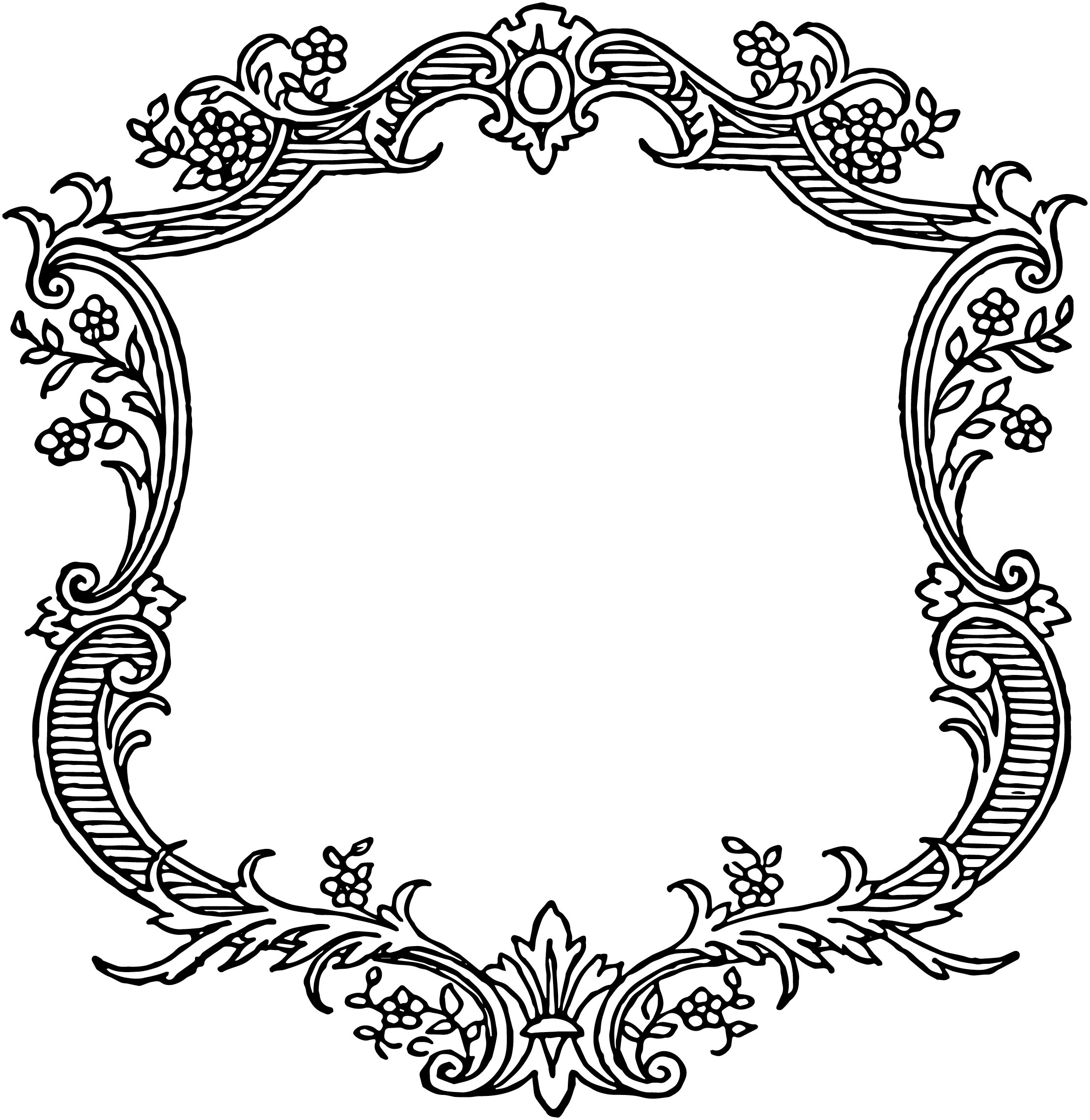 Free Scroll Borders, Download Free Clip Art, Free Clip Art On - Free Printable Wedding Scrolls