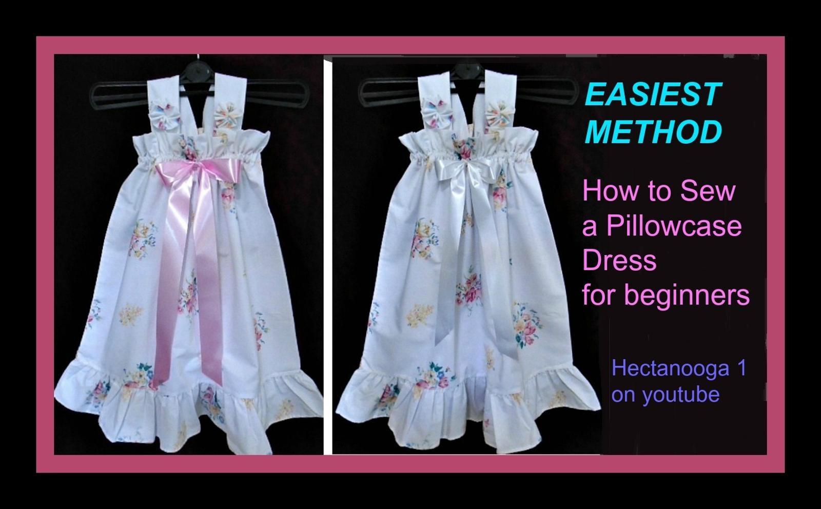 Free Sewing Pattern – Sewing Pattern- Easiest Pillowcase Dress – - Free Printable Pillowcase Dress Pattern