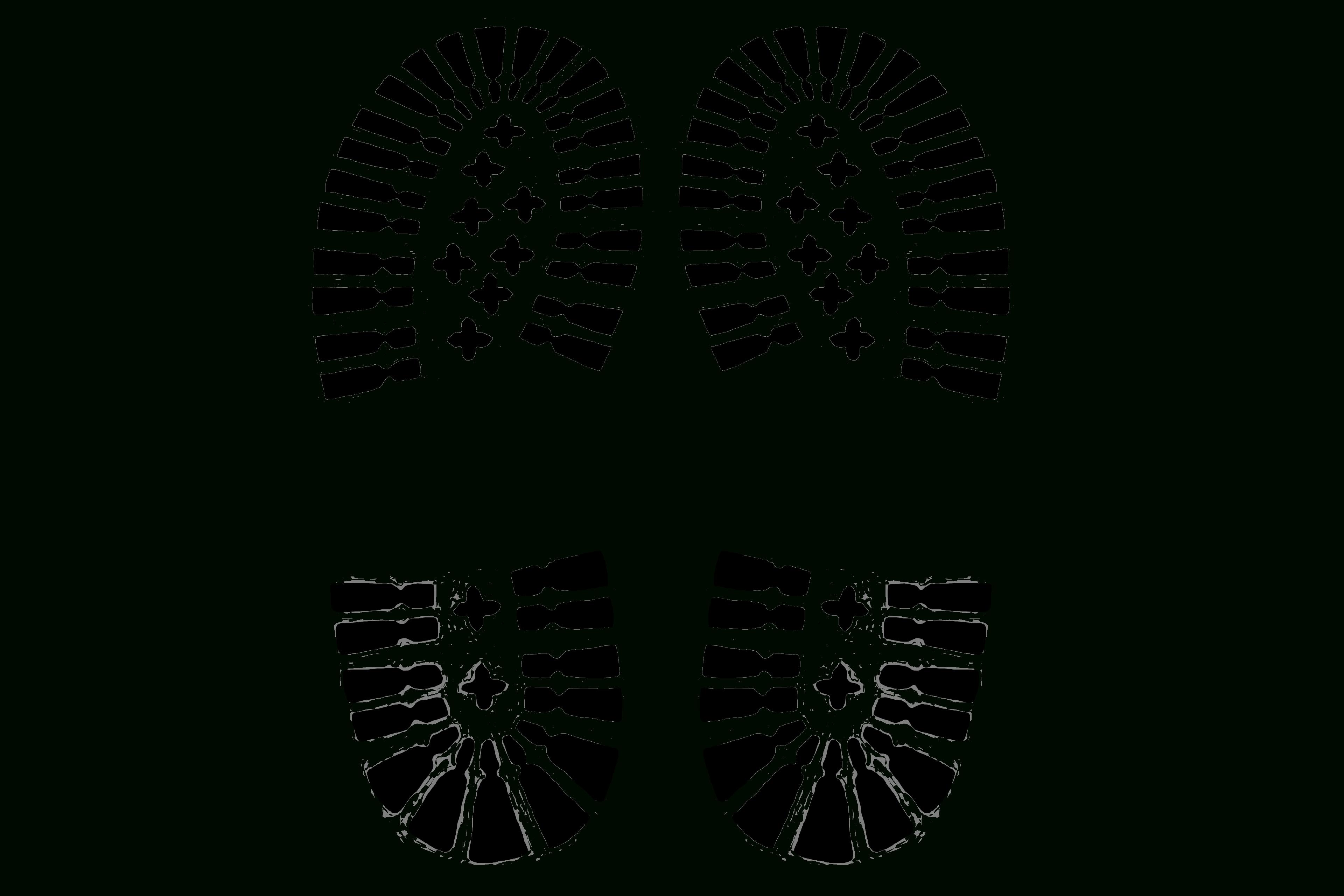 Free Shoe Prints, Download Free Clip Art, Free Clip Art On Clipart - Free Printable Shoe Print Template