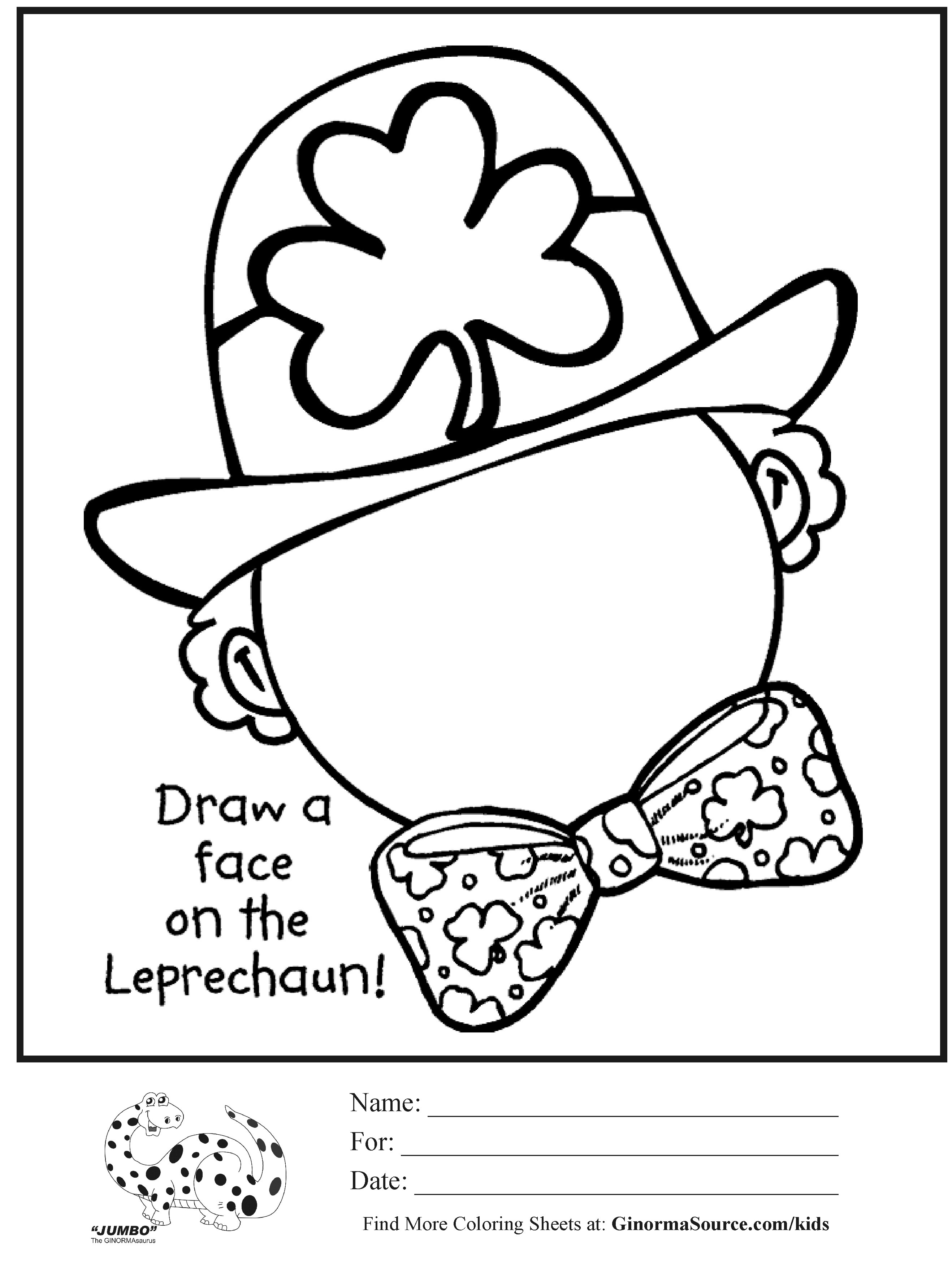 Free St Patricks Day Drawings, Download Free Clip Art, Free Clip Art - Free Printable St Patrick Day Coloring Pages
