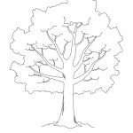 Free Stencil Of A Tree Outline, Download Free Clip Art, Free Clip   Free Printable Tree Template