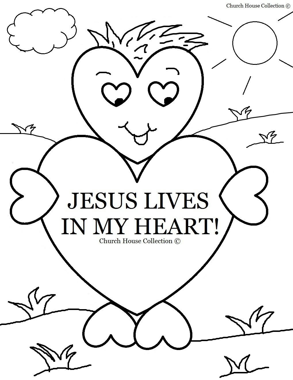 Free Sunday School Coloring Pages For Kids With Medquit Bible - Free Printable Sunday School Coloring Sheets