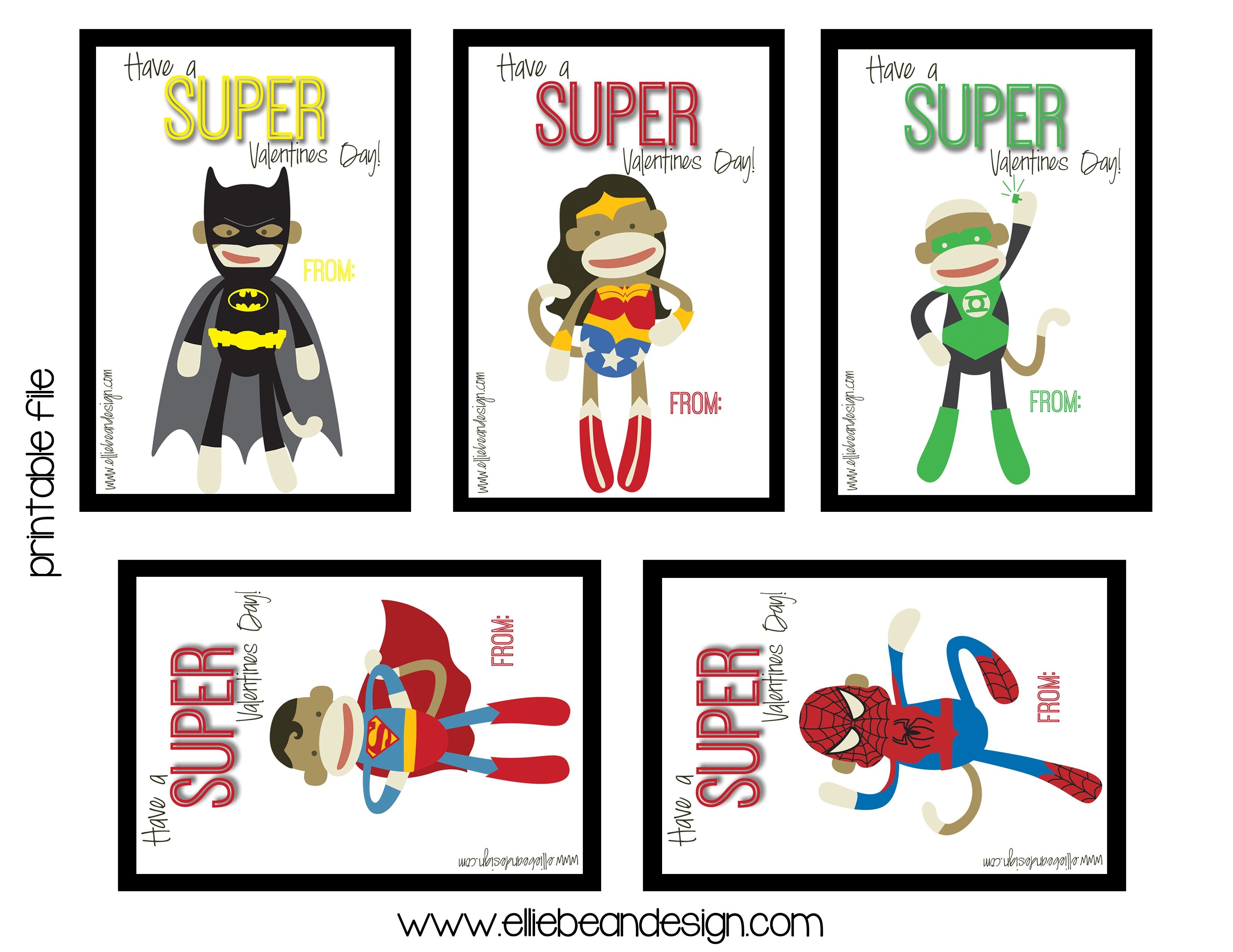 Free Superhero Valentine Cliparts, Download Free Clip Art, Free Clip - Free Printable Superman Valentine Cards