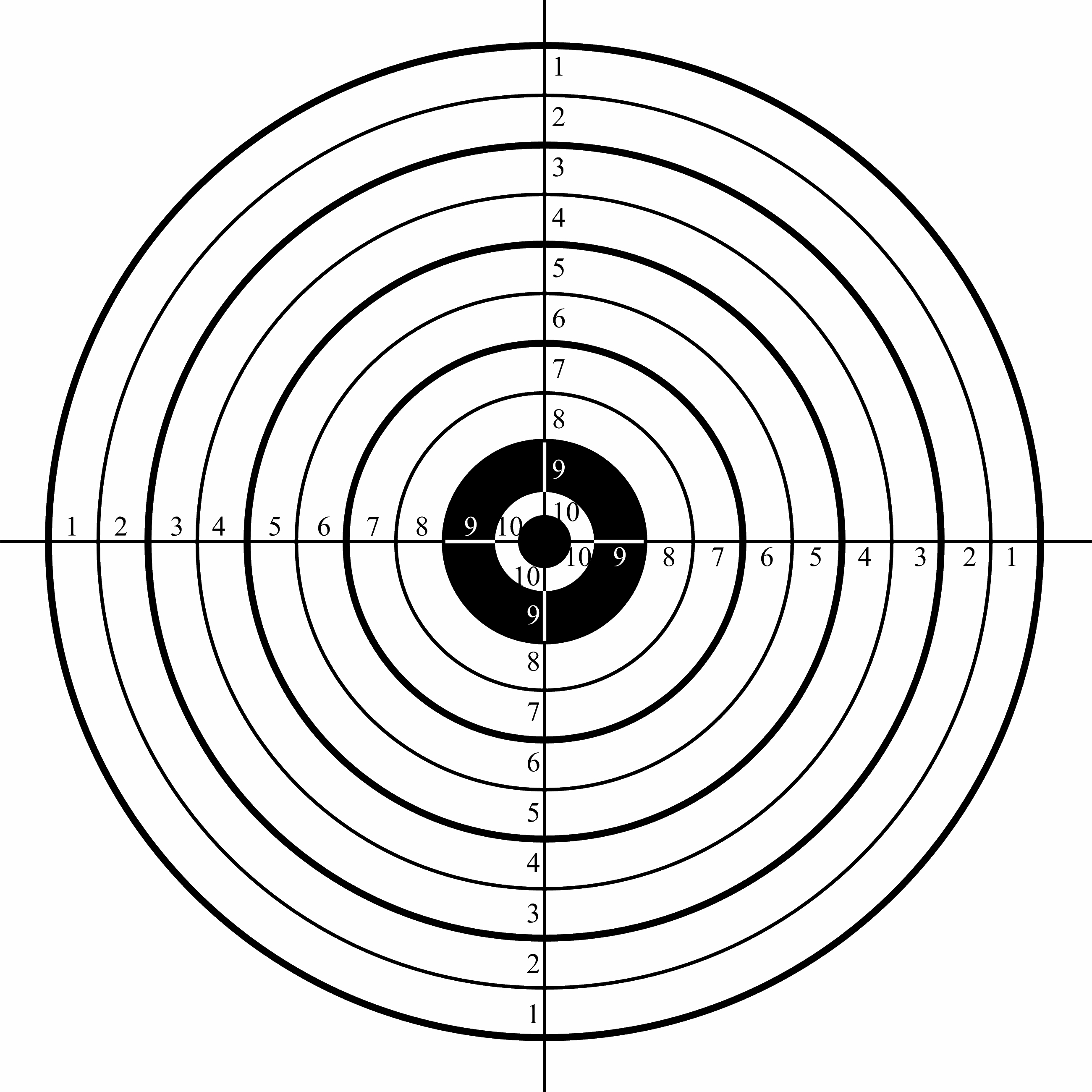 Free Target Shooting Cliparts, Download Free Clip Art, Free Clip Art - Free Printable Shooting Targets