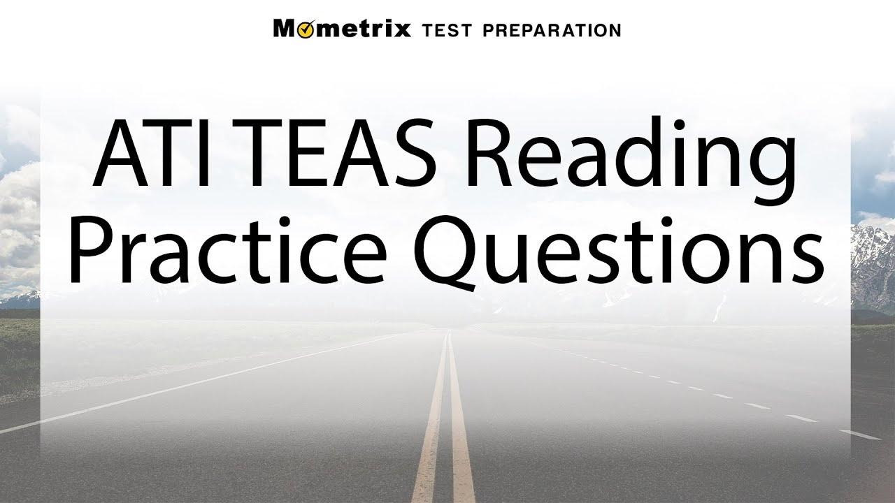 Free Teas Reading Practice Test - Youtube - Free Printable Teas Practice Test