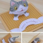Free Templates   Kagisippo Pop Up Cards 2 | Pop Up Cards | Pop Up   Free Printable Birthday Pop Up Card Templates