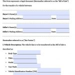 Free Texas Motor Vehicle Bill Of Sale Form | Pdf | Word (.doc)   Free Printable Texas Bill Of Sale Form