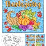 Free Thanksgiving Mural | Apfk Thanksgiving | Free Thanksgiving   Free Printable Murals
