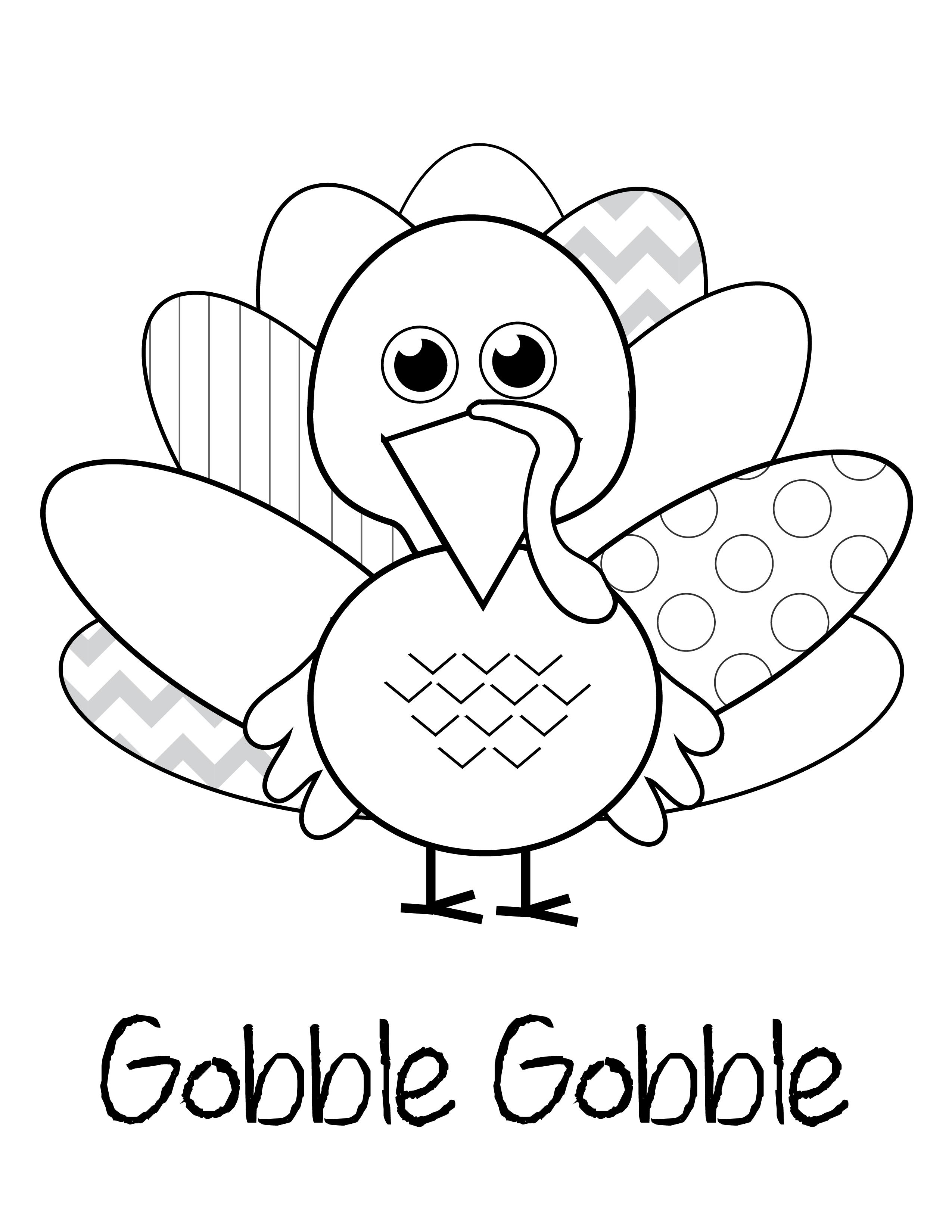 Free Thanksgiving Printables | Kids Thanksgiving Ideas - Free Printable Thanksgiving Coloring Pages
