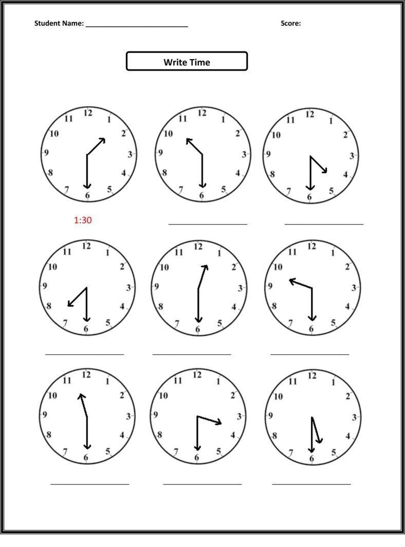 Free Third Grade Math Worksheets Elapsed Time | Second Grade | 2Nd - Elapsed Time Worksheets Free Printable