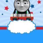 Free Thomas The Train Invitation Templates | Bagvania Invitation   Thomas Invitations Printable Free