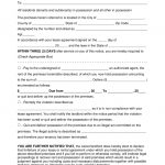 Free Three (3) Day Eviction Notice To Pay Or Quit   Pdf | Word   Free Printable 3 Day Eviction Notice