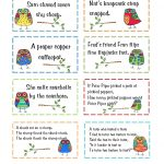 Free Tongue Twister Cards | Printables From Blog Sites | Tongue   Free Printable Tongue Twisters