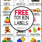 Free Toy Bin Labels   Free Printable Classroom Labels With Pictures
