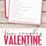 Free Valentines Couples Game Cards   Aspen Jay   Free Printable Valentine Games For Adults
