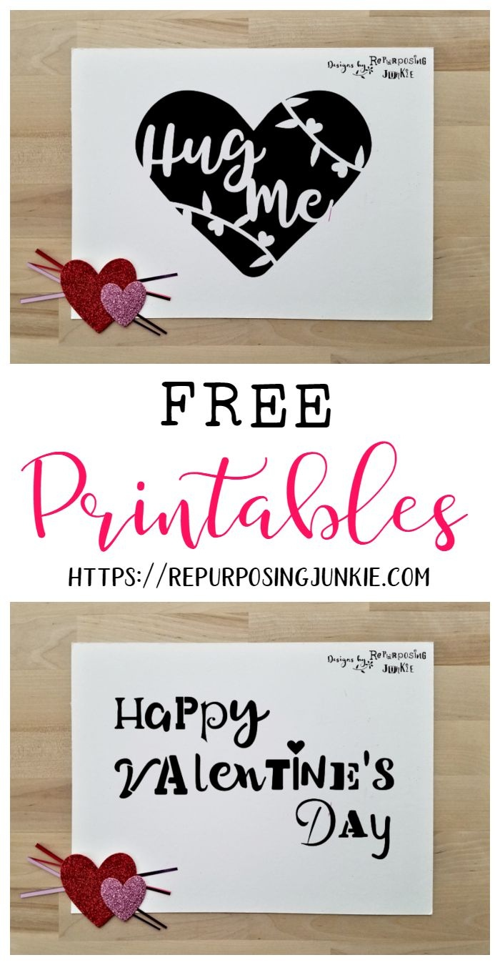 Free Valentine's Printables | Free Seasonal Svg Jpeg Cut Files - Free Printable Valentine's Day Stencils