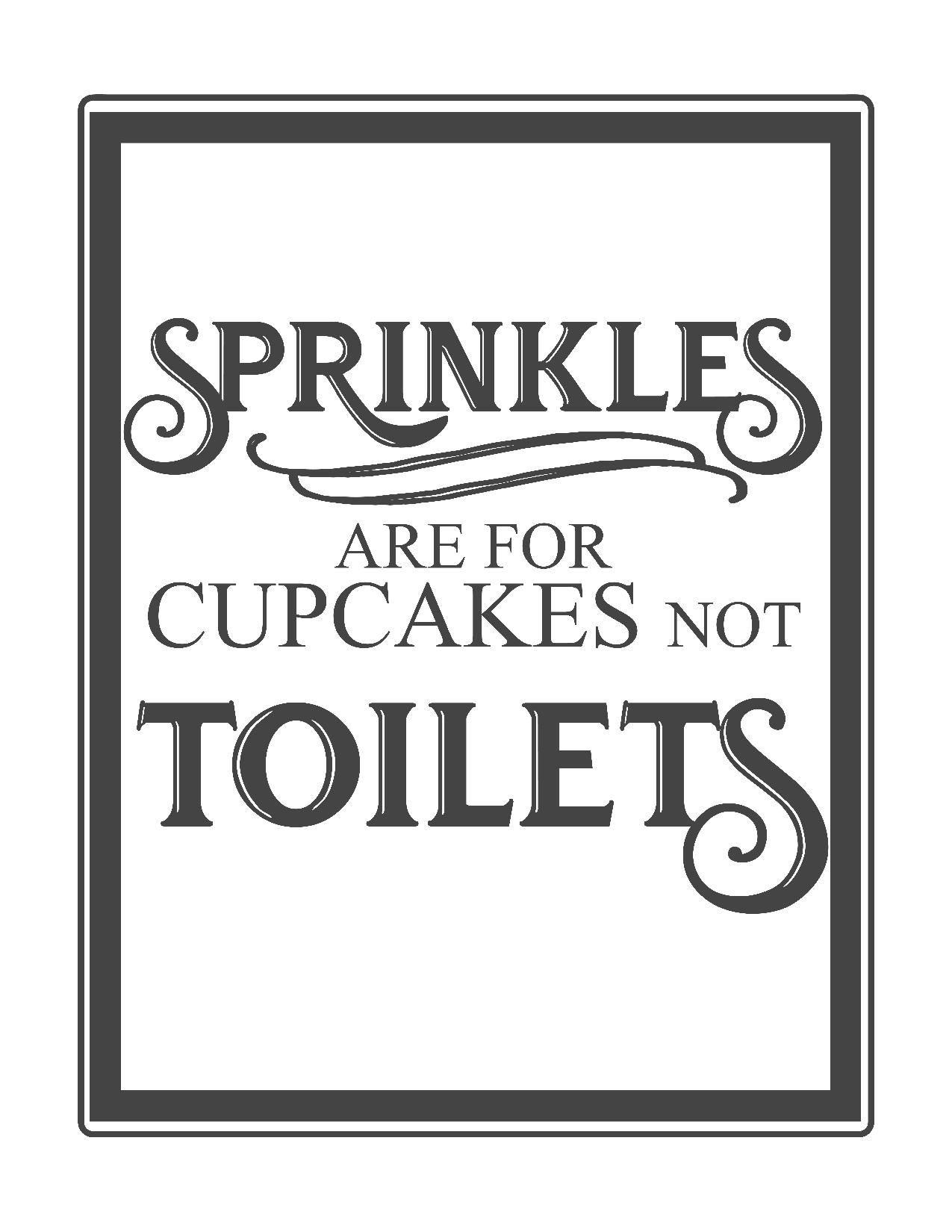 Free Vintage Bathroom Printables   Printables **   Toilet Rules - Free Printable Testing Signs