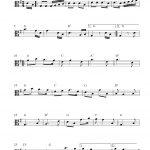 Free Viola Sheet Music, Dixie   Viola Sheet Music Free Printable