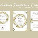 Free Wedding Invitation Card Template   Creativetacos   Wedding Invitation Cards Printable Free