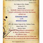 Free Wedding Invitation Card Template | I.d. Stuff | Free Wedding   Wedding Invitation Cards Printable Free