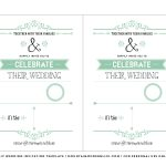 Free Wedding Invitation Template   Mountainmodernlife   Free Printable Wedding Invitations