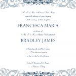 Free Wedding Invitation Templates For Word | Wedding Invitation   Free Printable Wedding Invitation Templates