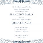 Free Wedding Invitation Templates For Word | Wedding Invitation   Free Printable Wedding Scrolls