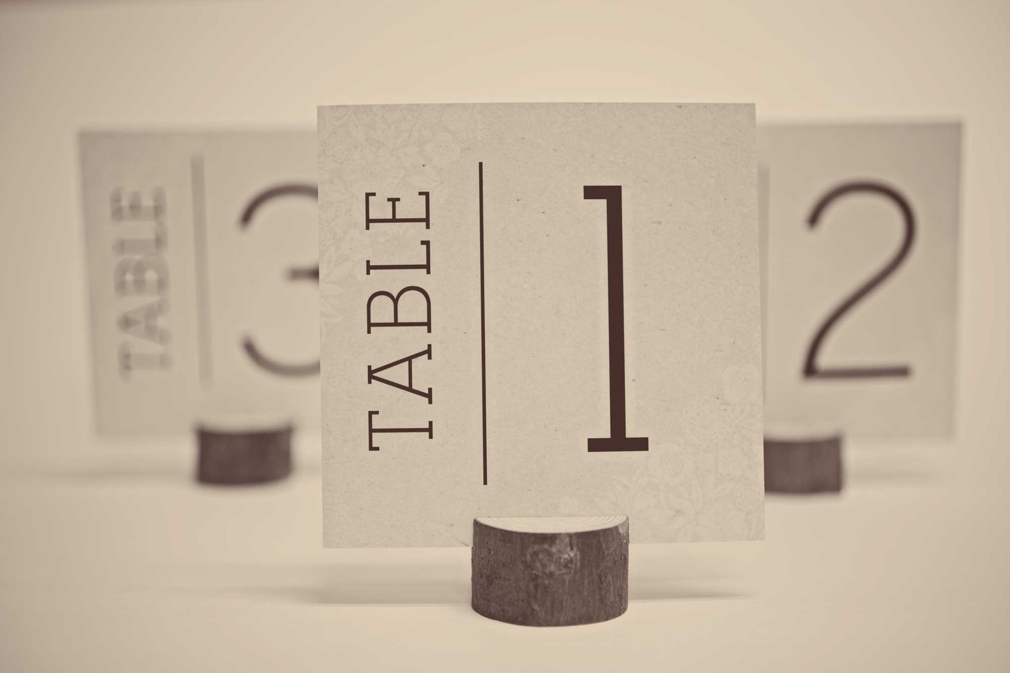 Free Wedding Table Number Cards - Free Printable Table Numbers 1 30