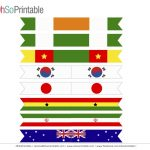 Free World Cup Soccer Printables From Ohsoprintable | Catch My Party   Free Printable Flags From Around The World