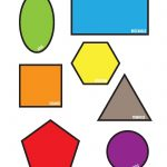 Freebies: Colorful Shapes Matching File Folder Printable Game (Free   Free Printable Math File Folder Games For Preschoolers